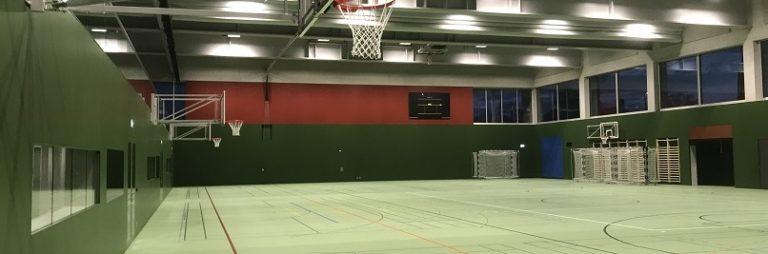 Neubau Dreifachsporthalle Kantonsschule, Zug